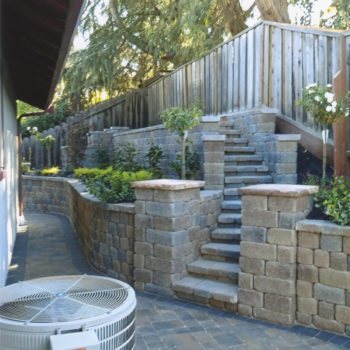Backyard Retaining Wall, Antioch