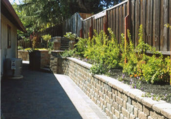 Antioch Retaining Wall After